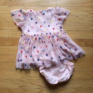 Stella McCartney multicolor tulle dress 6 months